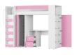 Детский уголок Д-4 Белый-Розовый