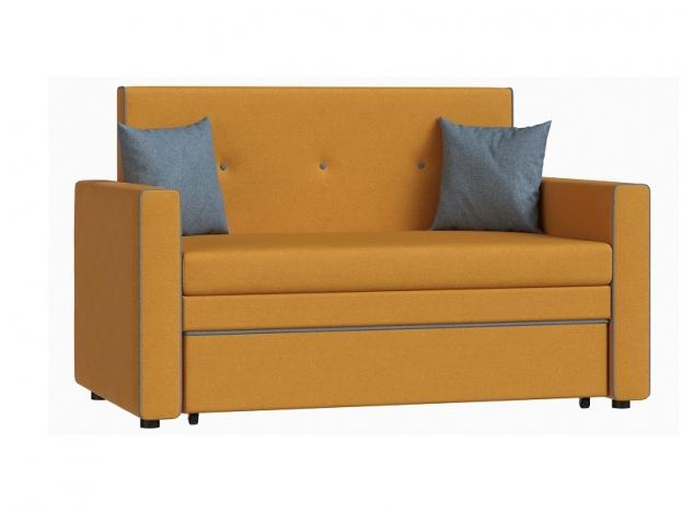 Диван-кровать Найс 120 арт. ТД-275 тыквенный