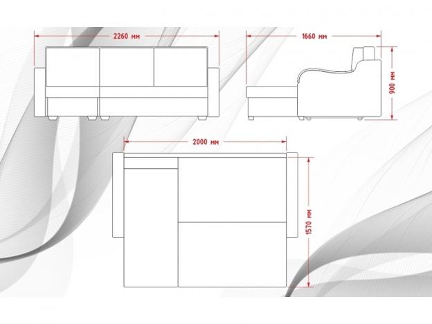 Диван угловой Лайф с накладками жесткое основание Infiniti А 02 бежевый-ТЖ Annett 6462