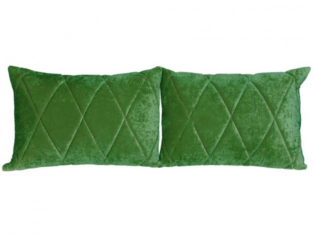 Комплект подушек Роуз 2 шт. арт. ТК-115 зеленый
