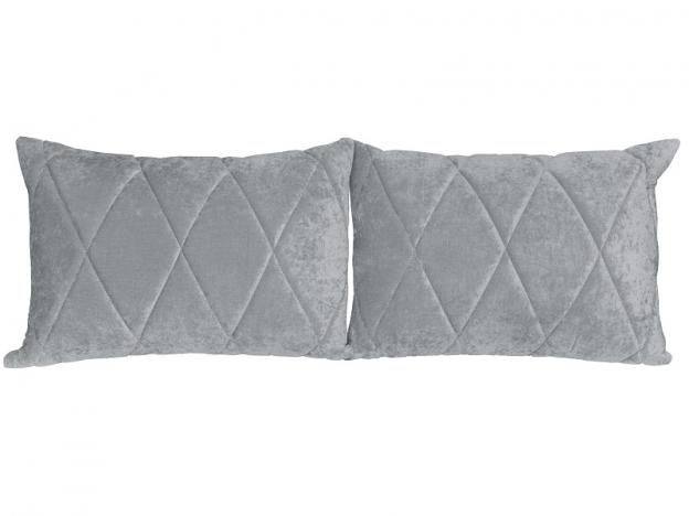 Комплект подушек Роуз 2 шт. арт. ТК-123 серый