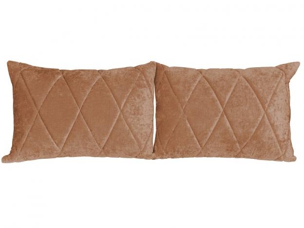 Комплект подушек Роуз 2 шт. арт. ТК-253 коричневый
