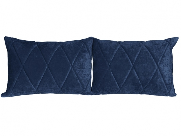 Комплект подушек Роуз 2 шт. арт. ТК-255 синий