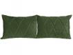Комплект подушек Роуз 2 шт. арт. ТК-256 оливковый