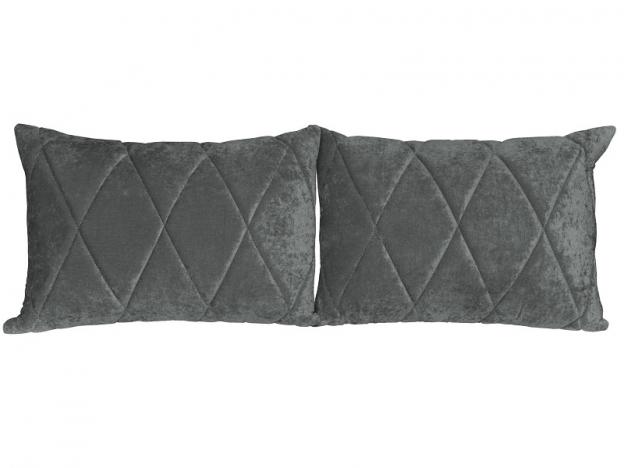 Комплект подушек Роуз 2 шт. арт. ТК-257 серый