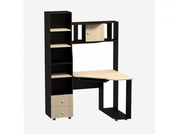 Компьютерный стол Персона-6 венге-шимо светлый