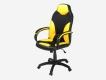 Кресло Дельта желтый-черный