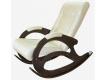 Кресло-качалка К 5-4 кожзам бежевый