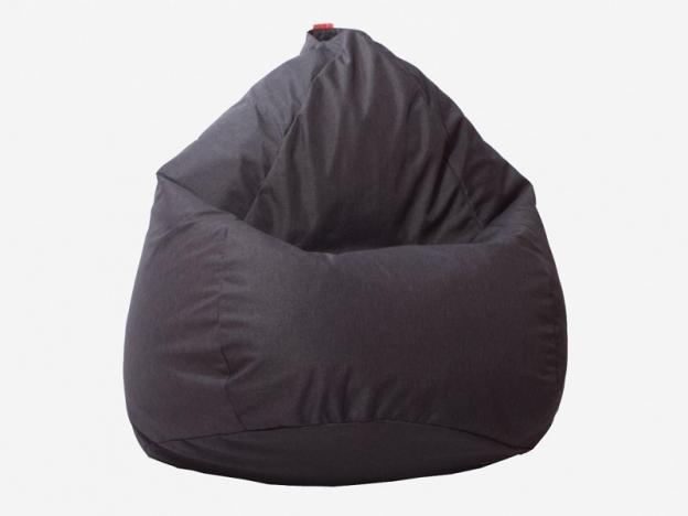 Кресло-мешок Юниор рогожка темно-серый