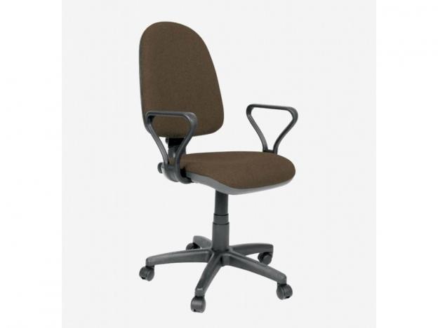 Кресло офисное Престиж Самба В-28 коричневый