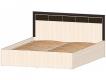 Кровать 1600 с подъёмным механизмом Венеция венге-дуб молочный
