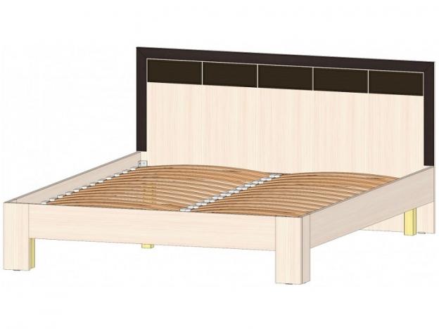 Кровать 1600 Венеция венге-дуб молочный