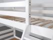 Кровать 2-х ярусная Адель Белая