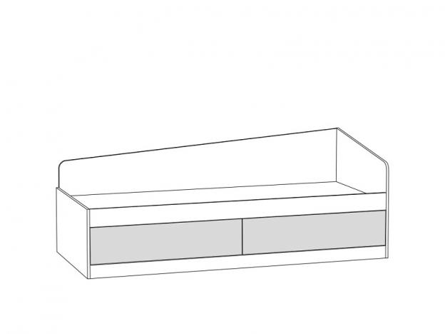 Кровать Альфа 11.21