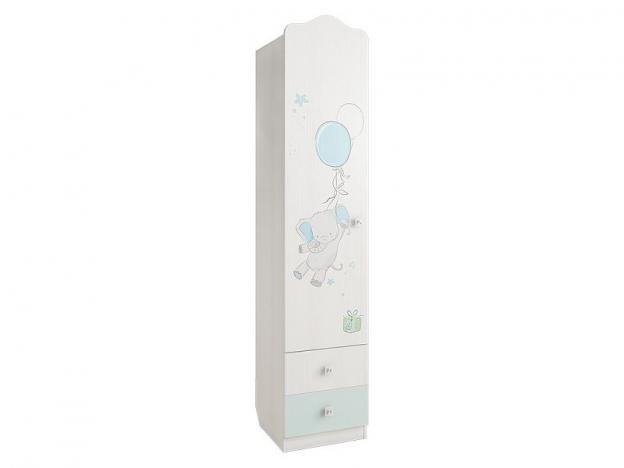 Шкаф 1-створчатый комбинированный Бонни МKB-02