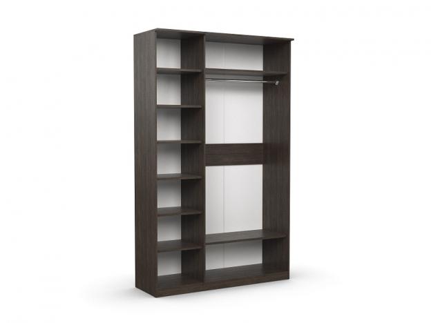 Шкаф 3-х створчатый Дуэт Люкс Венге-Дуб Млечный