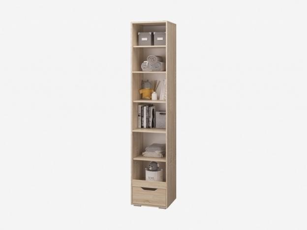 Шкаф для книг с ящиком и дверками Джуниор