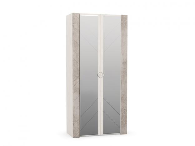 Шкаф для одежды Амели 13.133 Шелковый камень-Бетон Чикаго беж