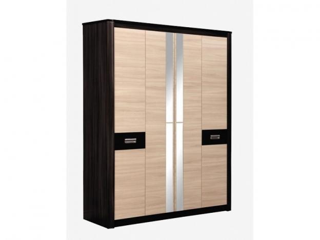 Шкаф для одежды Стелла 06.235 венге-дуб линберг