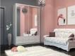Шкаф-купе Ольга с 2 зеркалами бодега светлая