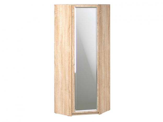 Шкаф угловой с зеркалом Дуэт Люкс Дуб Сонома светлый