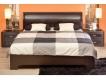 Спальня Парма венге-экокожа кайман темный