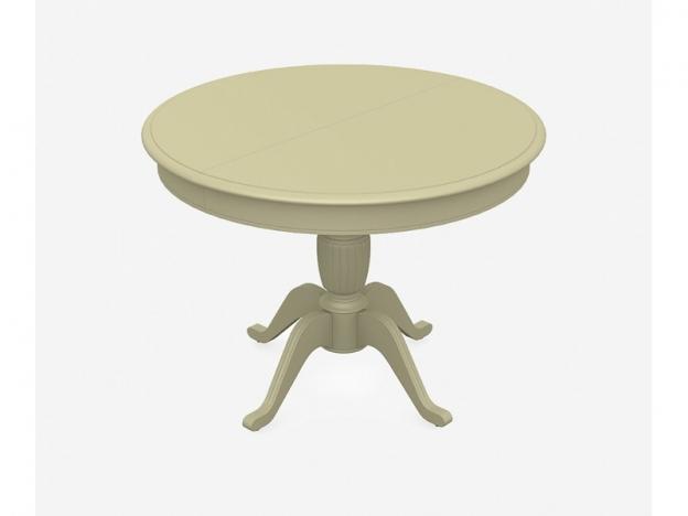 Стол раздвижной Леонардо-1 слоновая кость